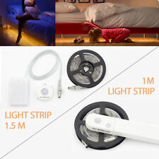 Motion Sensor Wardrobe Light Battery Operated LED Strip Light PIR Motion Lamp