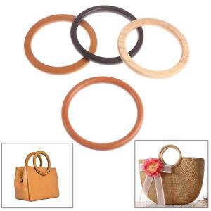 Wooden Bag Handle For Handcrafted Handbag Totes Diy Bag Accessories Parts  Fad