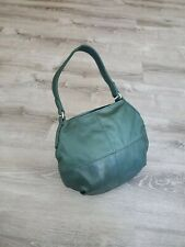 Green Leather Hobo Bag, Handmade Women Hobos Handbags, Aida