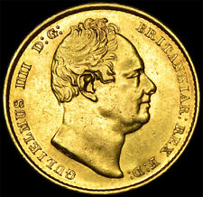 More details for king william the iv 1836 gold sovereign...