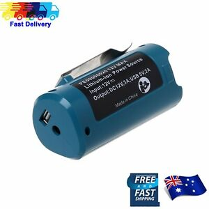 Battery Charger Adapter Replacement For Makita PE00000020 Heated Jacket USB AU