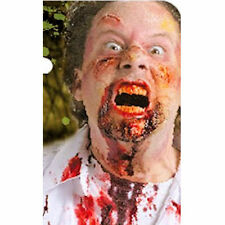 Zombie Red Blood Splatter Spray 59ml Theatrical Halloween Make up Special FX