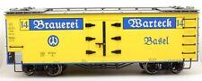 LILIPUT G SCALE L95986 'BRAUEREI WARTEK BIER' SBB-CFF BEER WAGON *NEW*