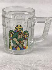 1996 McDonalds : Hunchback Of Notre Dame Glass Mug - Quasimodo