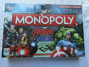 MARVEL AVENGERS MONOPOLY used item / import