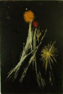 "Thilo Maatsch ""Kosmische Komposition"" Öl, signiert, datiert 1964, Spätwerk"