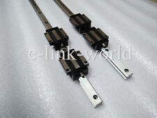 2 sets  HSR25--600mm Hiwin Linear rail & 4 pcs HSR25CA Bearing