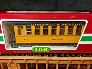 LGB 35800 DURANGO & SILVERTON Passenger Coach *New in Original Box * G Scale