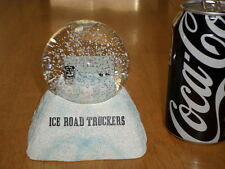 TV SHOW - HISTORY CHANNEL - ICE ROAD TRUCKERS, SNOW GLOBE - PAPERWEIGHT