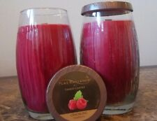 Yankee Candle Pure Radiance Crackling Raspberry 22 oz.Lot of 2 Free Ship Retired