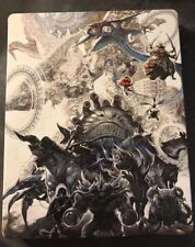Final Fantasy XII 12 Zodiac Age Collector's Edition Steelbook  Bonus Soundtrack