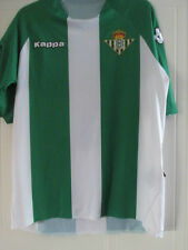 Real Betis 2006-2007 Player ISSUE Home Football Shirt Size Medium Adults /39003