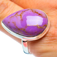 Large Phosphosiderite 925 Sterling Silver Ring Size 14.5 Ana Co Jewelry R37210F