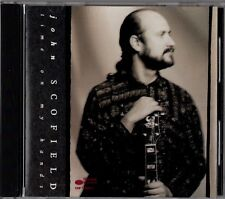"""JOHN SCOFIELD """"TIME ON MY HANDS"""" CD 1990 blue note"""