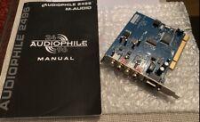 M-Audio Audiophile 2496 PCI Soundkarte