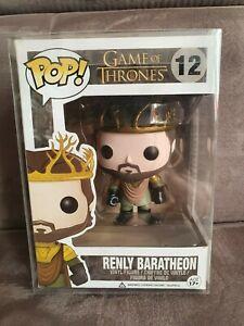 Funko Pop Game of Thrones Renly Baratheon *Schutzhülle*