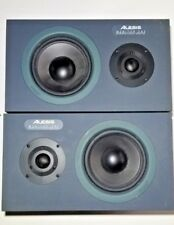 2 Alesis Monitor One Monitors And Alesis RA-100 Ampliphier + 2 Speaker Wiring