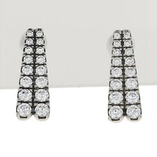 NEW Authentic Pandora Shooting Stars Earrings - Silver Clear Drops 296367CZ