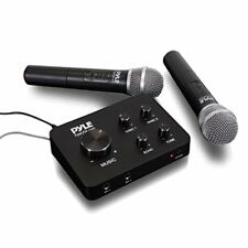 Home Karaoke Mic System - Connect to TV, Radio, Amp, Speaker (PDWMKHRD22WM)