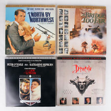 Classic Movie Lot of 4 on Laserdisc: North by Northwest, Bridge Too Far, Dracula