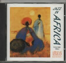 JAZZ IN AFRICA*VOLUME TWO various TSHONA 1992 KAZ COMPILATION CD.