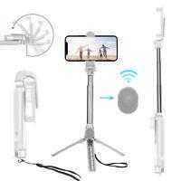 Extendable Camera Tripod Stand Bluetooth Remote Selfie Stick Phone Holder Mount