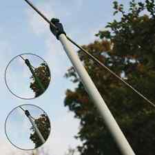 HEAVY DUTY TELESCOPIC WASHING LINE PROP EXTENDING SUPPORT CLOTHES LAUNDRY