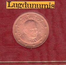 Vatican 2008 - 2 Centimes D'Euro - 91 400 exemplaires Provenant du BU RARE