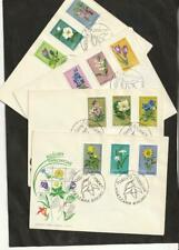 Poland 1962 FLOWERS FDC Complete  Scott 1066-1077 Michel 1125-1336 VF CA/ UA