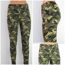 Leggings Army Style Camouflage Military one size bis 44 sexy Leggings Männer Fra