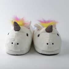 Ladies Girls Unicorn Slippers Fit Up to Size 7