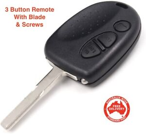 Suits Holden 3 Button Remote, Chip & Key-Suits VS VR VT VX VY VZ WH Commodore