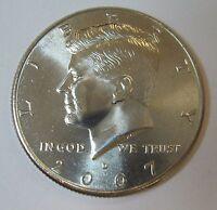 2007-D John F Kennedy Clad Half Dollar Choice BU Condition From Mint Set  DUTCH