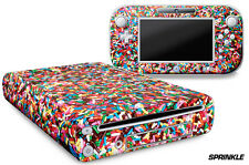 Skin Decal Wrap for Nintendo Wii U Gaming Console & Controller Sticker SPRINKLE