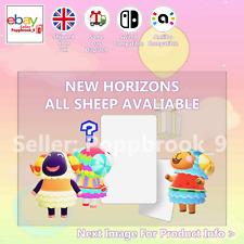 All Sheep Animal Crossing Custom NFC Amiibo Compatible Card New Horizons ACN