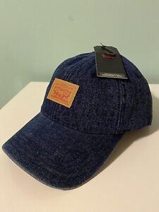 Levis Denim Hat Snapback Brand New Classic Vintage