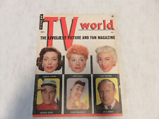 VINTAGE September 1955 TV World Magazine - LUCILLE BALL Cover