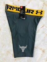 Men's Under Armour UA Project Rock Compression Boxer Shorts Size Medium