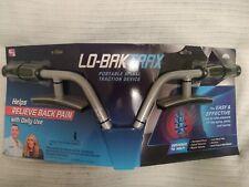 Lo-Bak Trax Exerciser, Lower Back, DVD, ejercitador de espalda baja