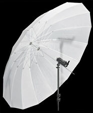 "Studio Umbrella White Parabolic Type 74/85"" 188/215cm (diameter/arc)"
