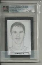11/12 ITG ULTIMATE Memorabilia Give-Away Sketch Card Luc Robitaille 1/1