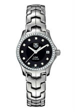 BLACK FRIDAY SALE TAG HEUER WOMENS LINK WJF131A.BA0572 DIAMOND DIVER WATCH