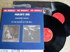 Pavlov's Dog – Pampered Menial + At The Sound Of The Bell - 2 LP GATEFOLD