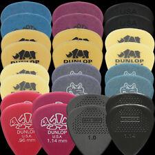 26 Dunlop Heavy Guitar Picks Variety - Tortex, Nylon, Ulex, Gator, Delrin, Max