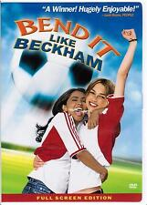 Bend It Like Beckham 2003 Full Screen DVD Soccer Sports Movie Keira Knightley