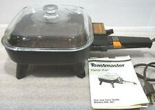 "Vintage Toastmaster Handi-Pan Model 801 7"" Electric Skillet"