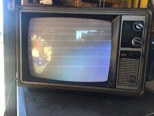 Vintage Montgomery Ward 19� Television Model No Ggv12960A . 1977