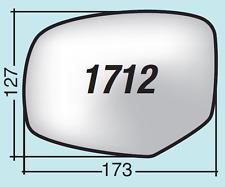 Vetro specchio retrovisore Suzuki Swift dal 2010 in poi destro 1712D