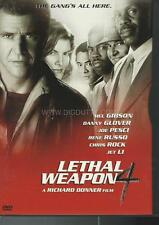 LETHAL WEAPON 4 (DVD 1981) Mel Gibson / Danny Glover / Jet Li - VERY GOOD