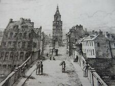 More details for etchings of auld ayr  super 1897 rare limited edition  robert bryden (1865–1939)
